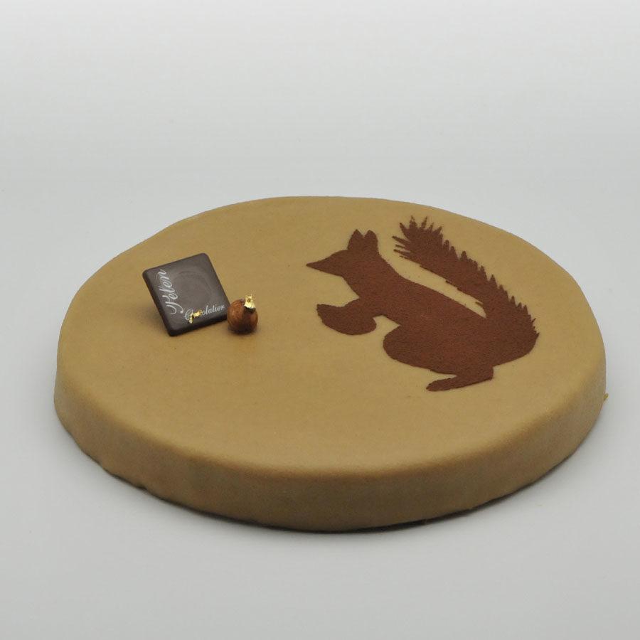 l 39 authentique g teau cureuil pelen chocolaterie pelen. Black Bedroom Furniture Sets. Home Design Ideas